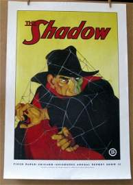THE SHADOW - PULP FICTION HERO � Finch Paper promo