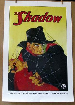 THE SHADOW - PULP FICTION HERO – Finch Paper promo