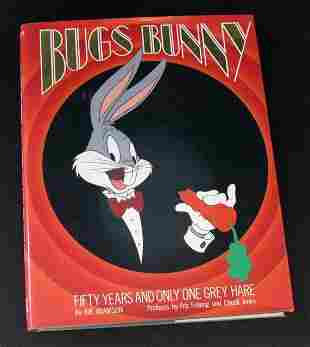 BUGS BUNNY - DELUXE HARD-COVER BOOK - FIFTY YEARS AND