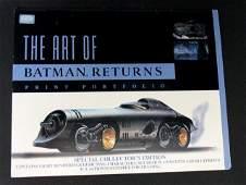 BATMAN RETURNS  LIMITED EDITION PRINT PORTFOLIO