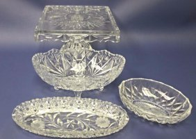 Collection of Cut Crystal