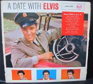A Date with Elivs Vinyl Record Limited Edition