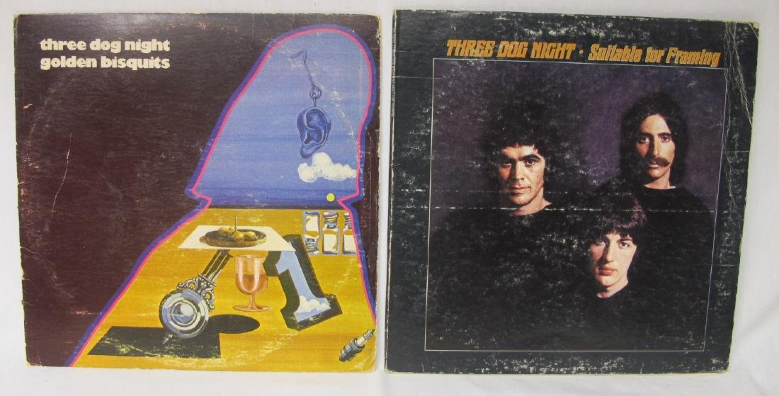Collection of Twenty-Two (22) Rock Vinyl Records - 10