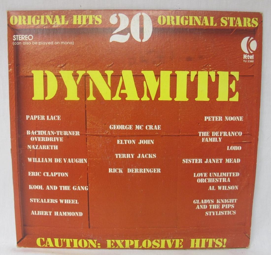 Collection of Twenty-Two (22) Rock Vinyl Records - 7