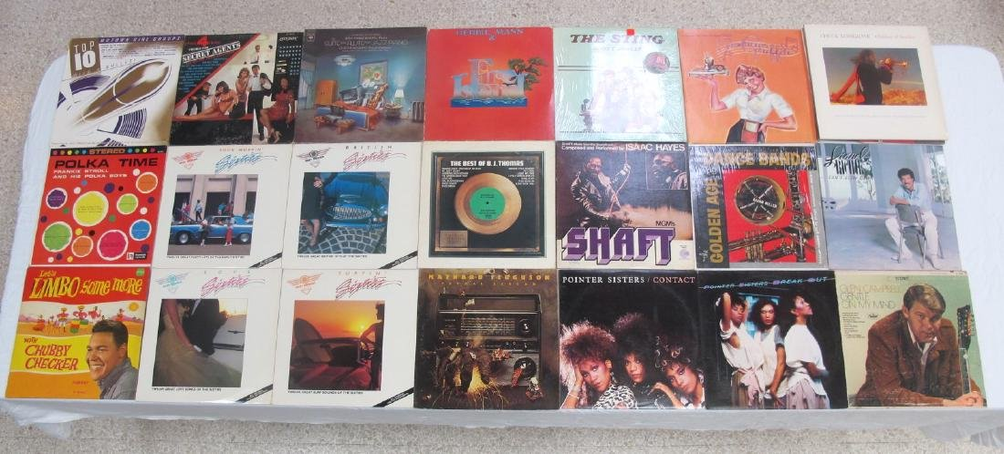 Collection of Twenty-Four Various Artists Vinyl Records