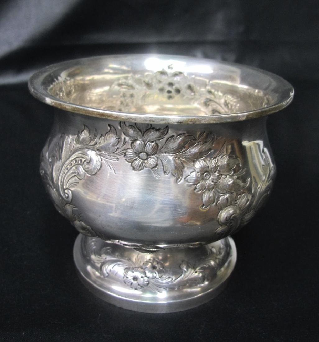 A. Rumrill & Co. Sterling Silver Spittoon 1831-1840,