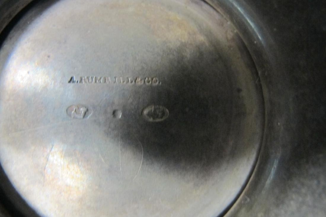 A. Rumrill & Co. Sterling Silver Spittoon 1831-1840, - 2