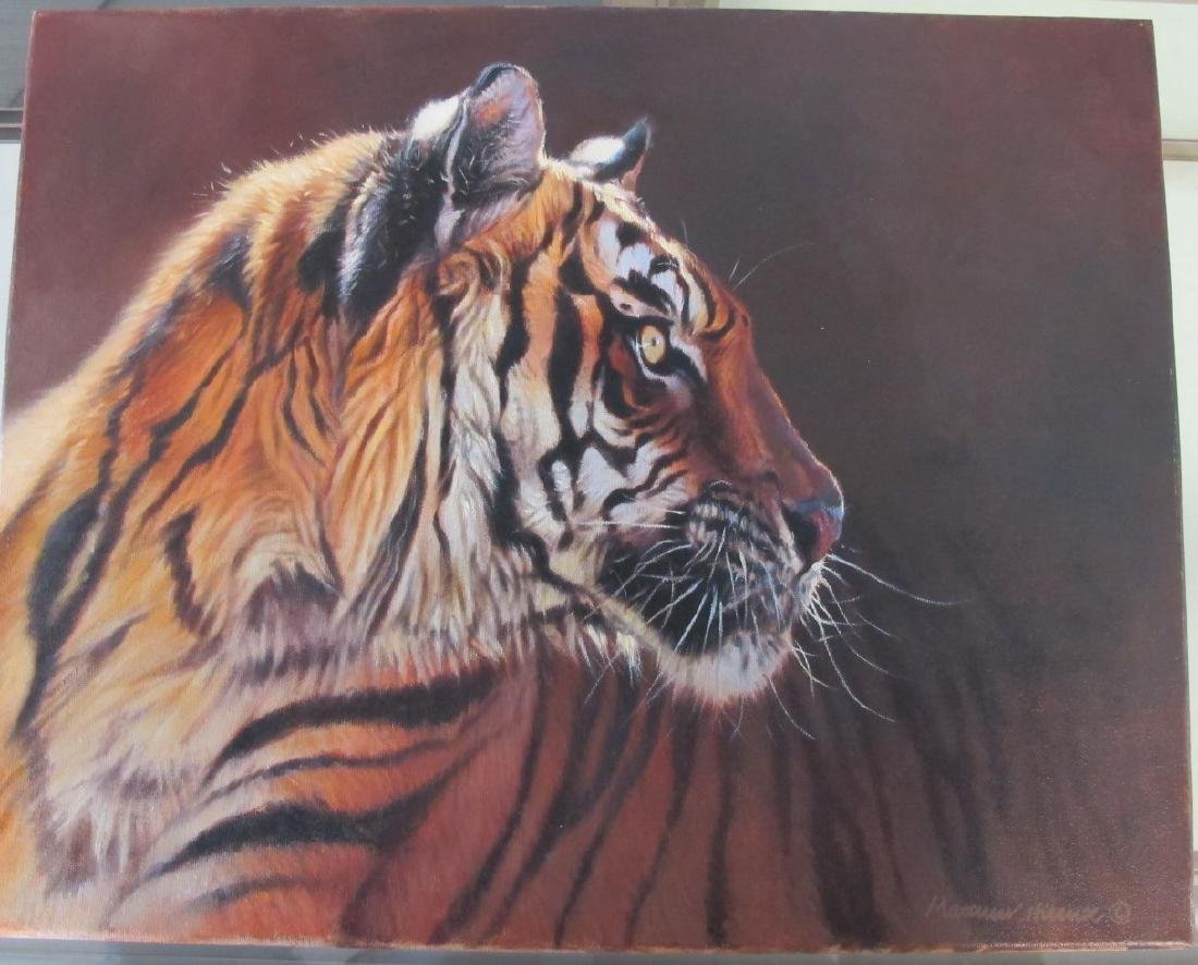 Tiger Painting by Matthew Hillier (England/UK born