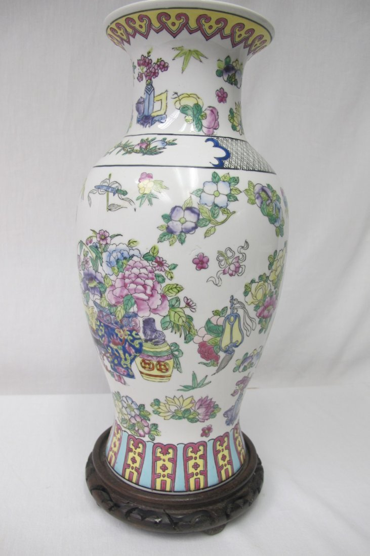 Chinese Porcelain Vase Converted to Lamp - 2