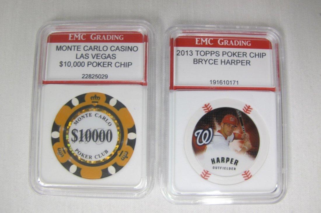 Monte Carlo Casino Las Vegas $10,000 Poker Chip and