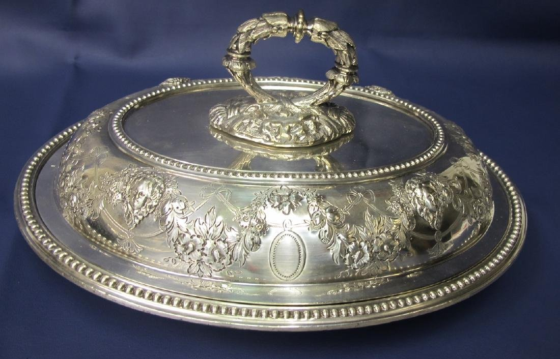 Three Pieces of Silver Plate to Include Tray and Two - 2