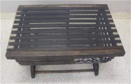 Vintage Lobster Trap Converted To Coffee Table 38L x
