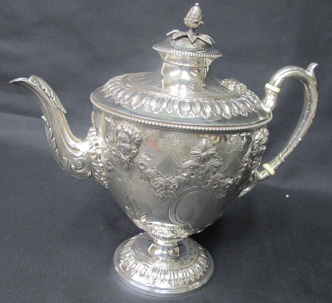 Antique Martin Hall & Co. Sterling Silver Five - 5