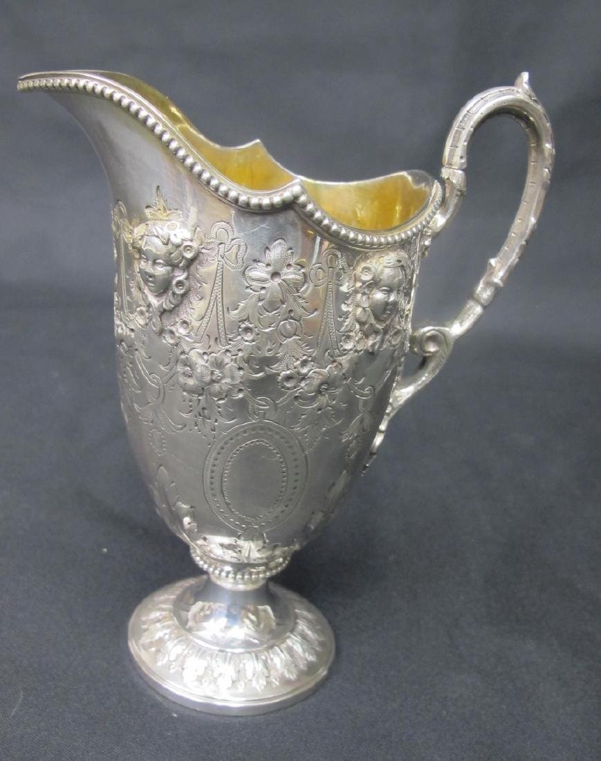 Antique Martin Hall & Co. Sterling Silver Five - 8