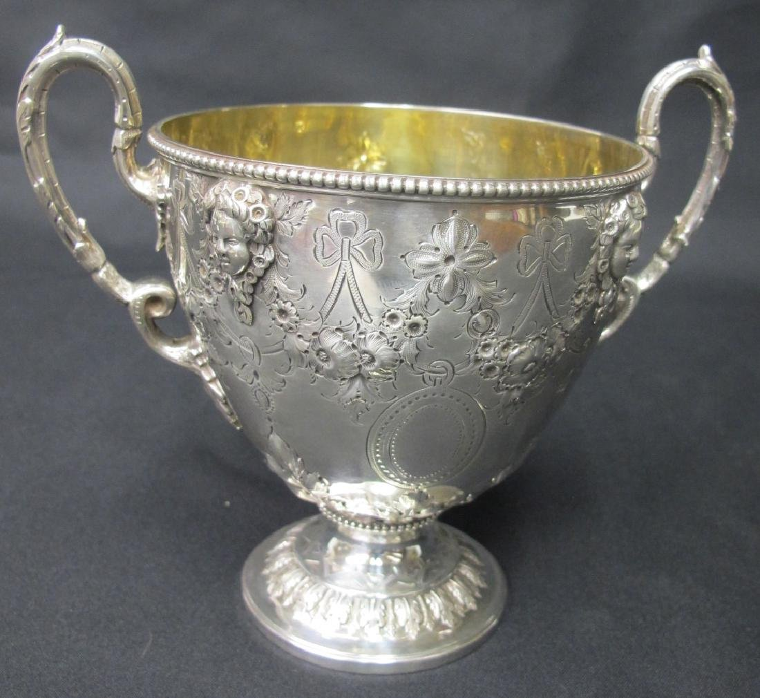 Antique Martin Hall & Co. Sterling Silver Five - 9