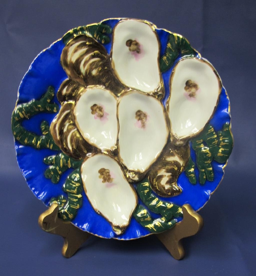 Haviland Limoges 5 Well Oyster Plate