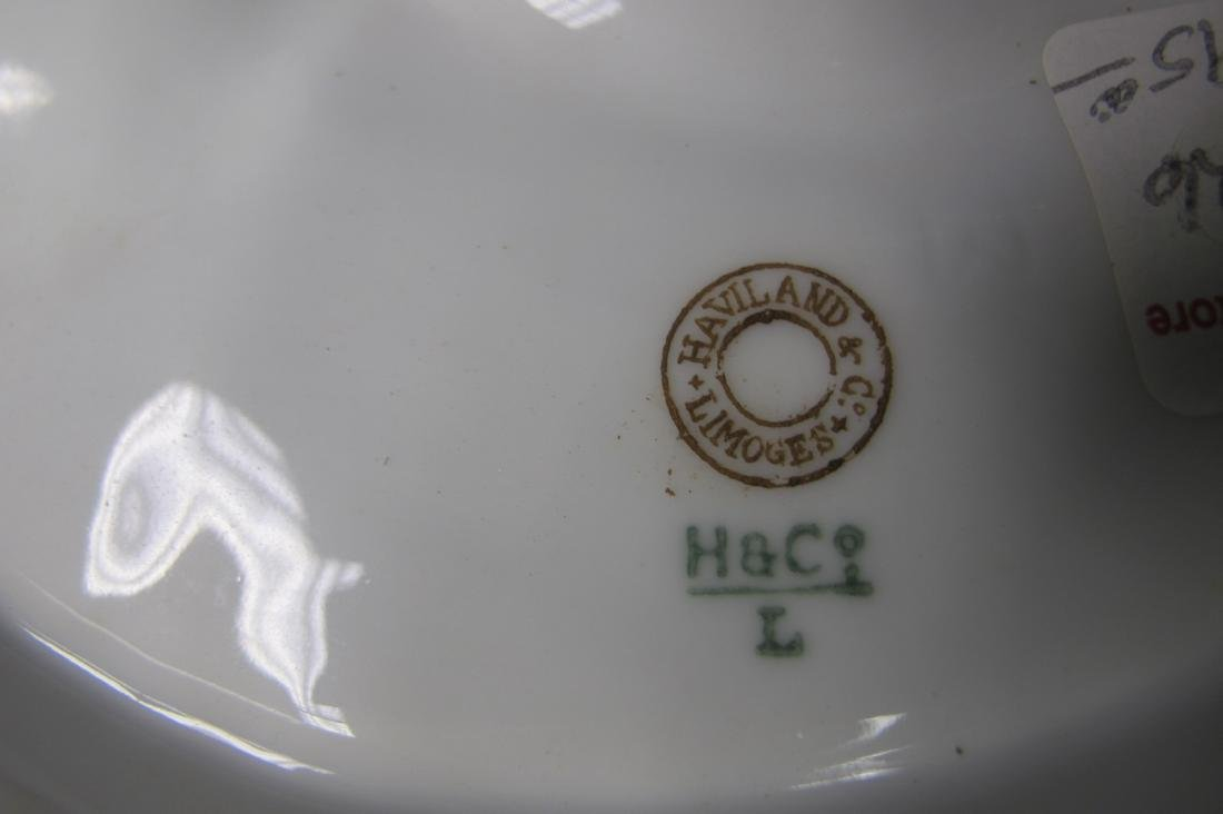 Haviland Limoges 5 Well Oyster Plate - 2