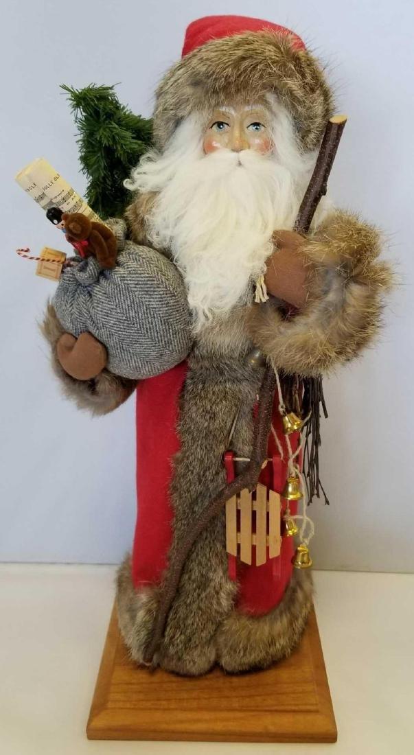 """Woodland Santa by Lynn Haney, Copyright 1989, 18"""""""