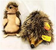 Set of Two Steiff Stuffed Animals to Include 'Joggi'