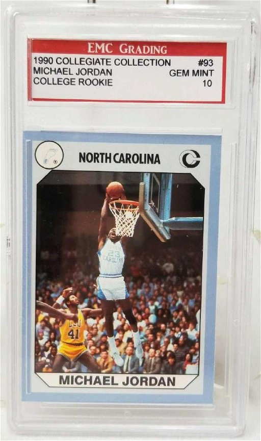 1990 Collegiate Collection Michael Jordan College