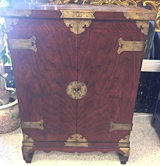 Oriental Style Bar Cabinet