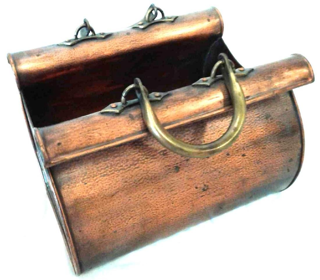 Decorative Copper Travel Bag