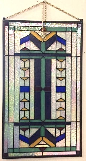 Art Deco Style Stain Glass