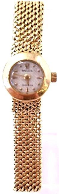 Antique 18K YG Ladies Rolex Watch