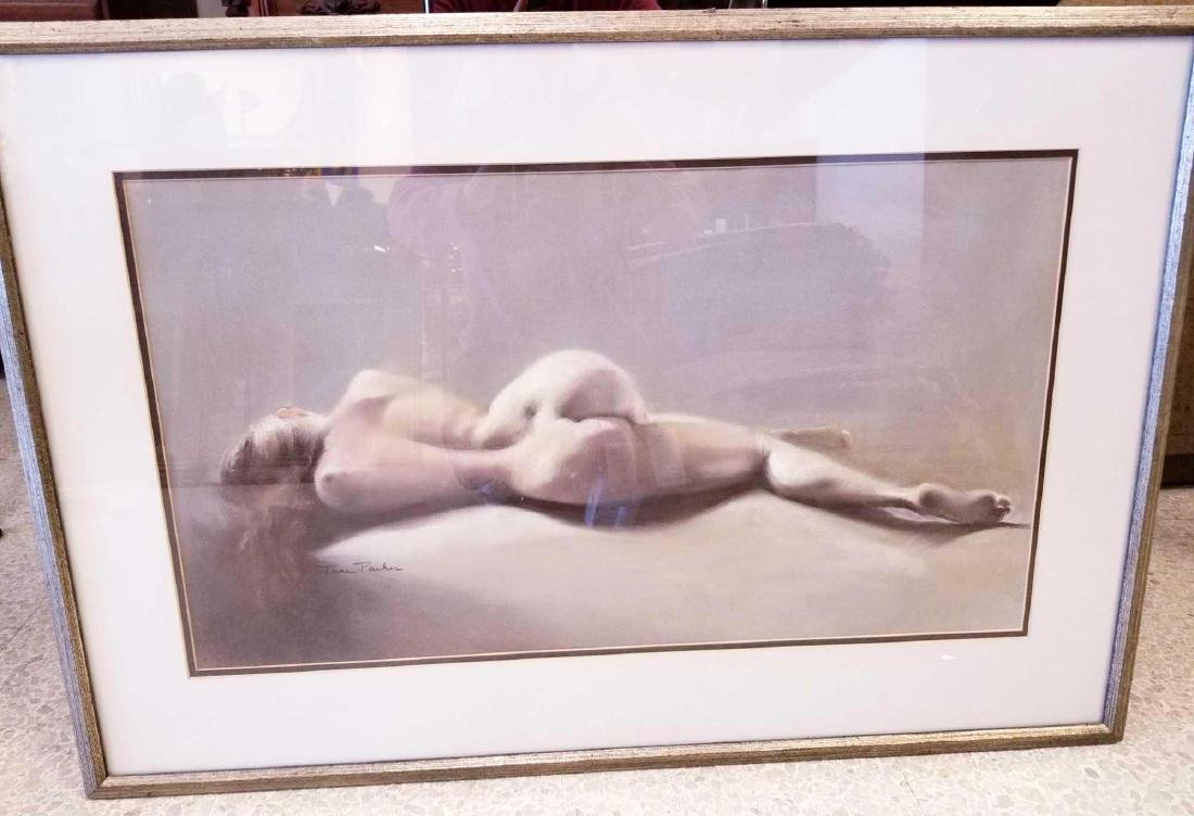 Abstract Nude Pastel by June Parker