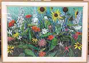 Flowers In The Rain by Tom Wilson