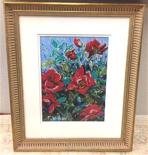 Roses by Tom Wilson
