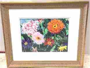 Garden Flowers by Tom Wilson