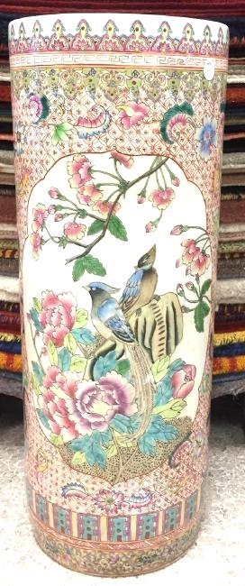 Early 20th Century Chinese Porcelain Umbrella Stand