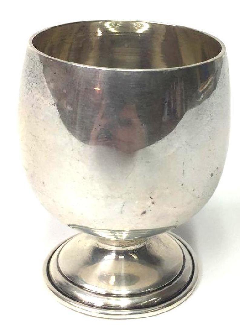 B & M Sterling Silver Cup