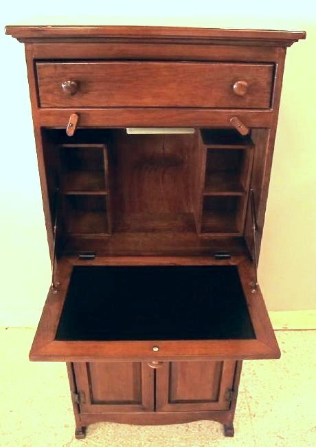 Wooden Drop Leaf Writing Desk