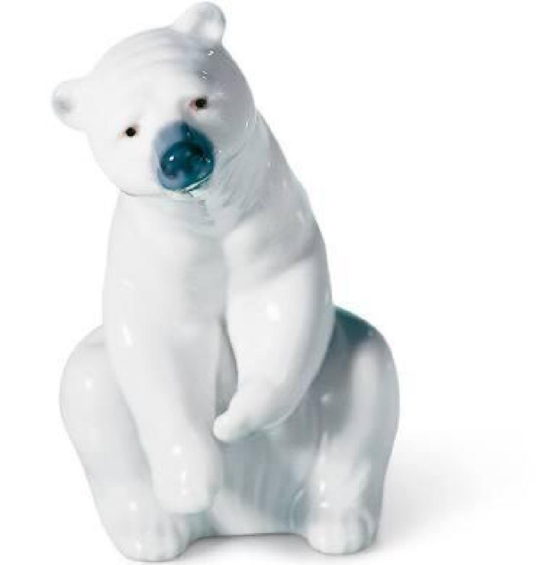 Retired Lladro Resting Polar Bear #1208