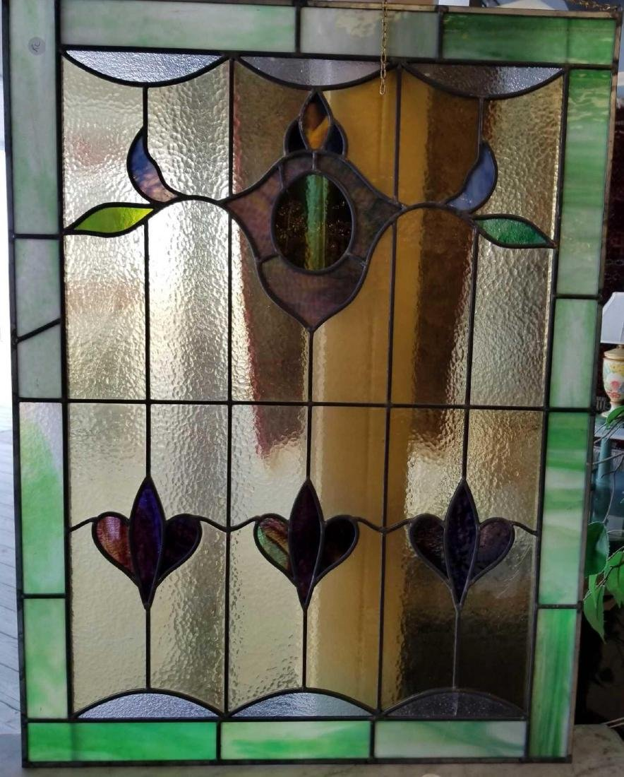 Art Deco Stained Glass