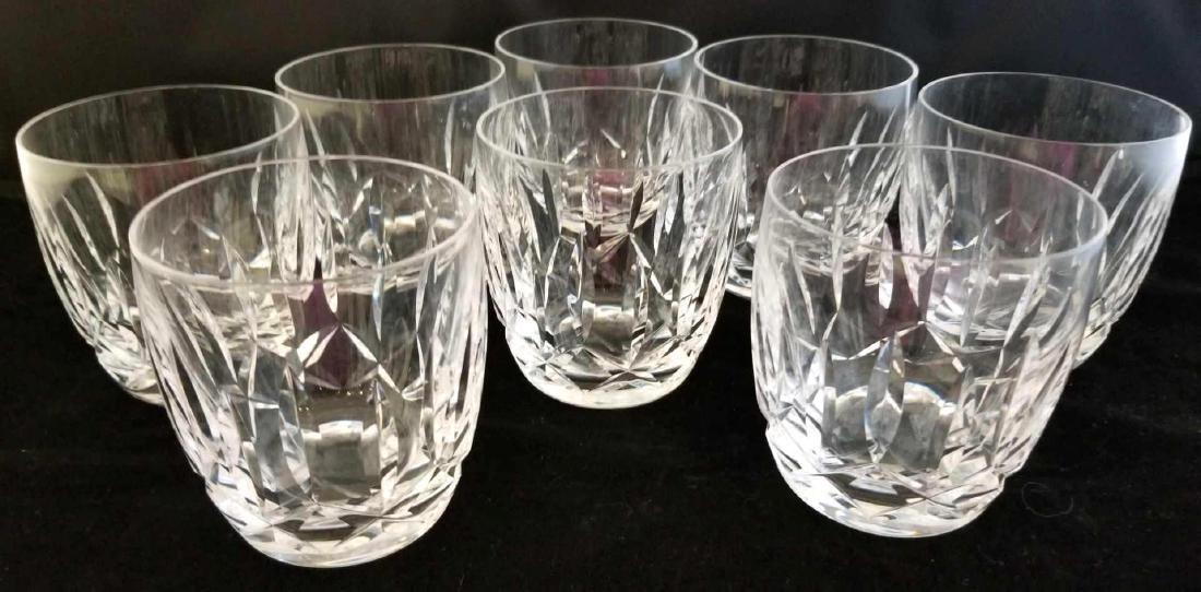 Set of Waterford Crystal Rocks Glasses