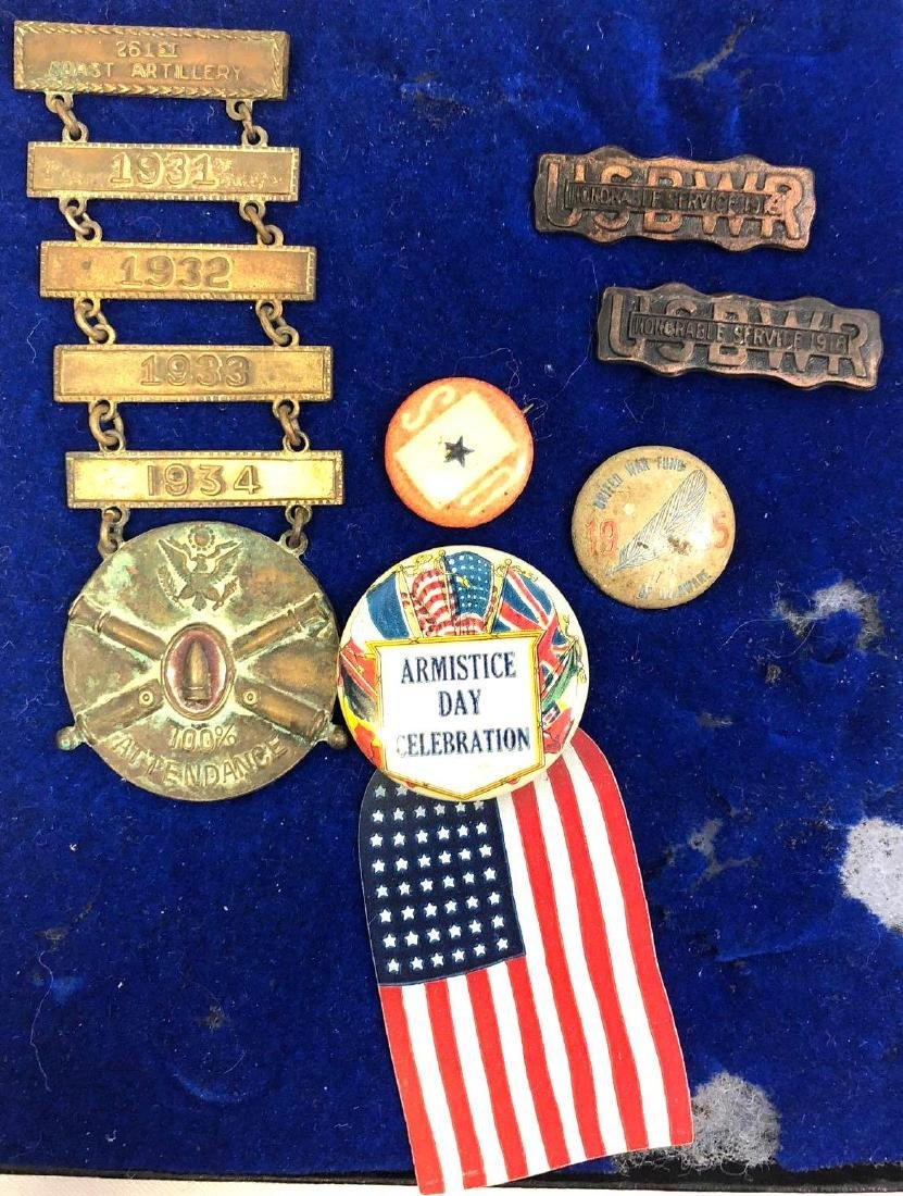 Collection Of United States Boys Working Reserve Pins