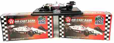 Two (2) Mario Andretti Die-Cast Banks. 1994 Collector