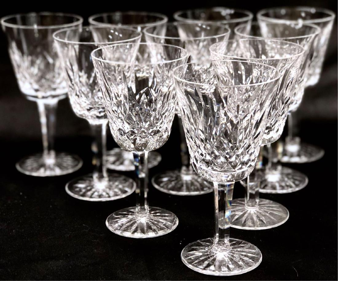 Collection of Waterford Crystal Wine Glasses