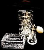 Waterford Crystal Vanity Set