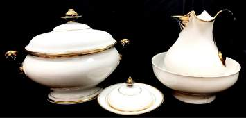 Collection Of French Empire Style Porcelain
