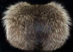 Vintage Racoon Fur Muff