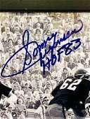 Sonny Jugenson HOF 83 Framed Signed And Certified Photo