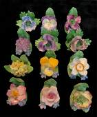 Bone China Floral PlaceCard Holders