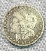 "1888-O ""Hot Lips"" Morgan Silver Dollar"
