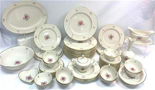 56 Pc Lenox Rhodura Dinnerware Set