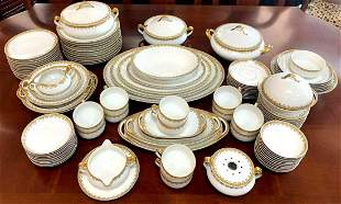 102 Piece Of Exquisitely Detailed Haviland Limoges