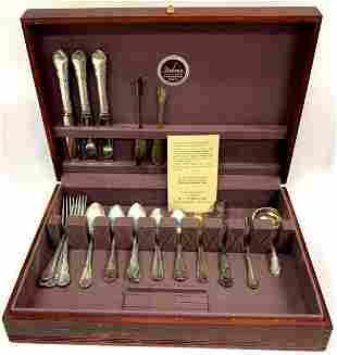 Lunt Sterling Silver Flatware Set